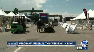 Velorama Festival this weekend in RiNo - Video