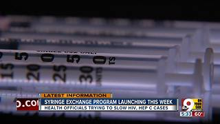 Syringe exchange to begin in Clermont County - Video