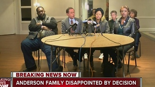 Family of Jay Anderson disappointed by decision not to charge offer in his shooting death - Video