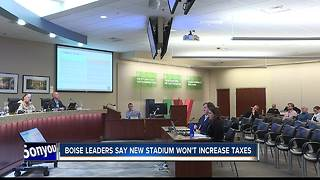 boise city leader discuss proposed downtown sports complex - Video