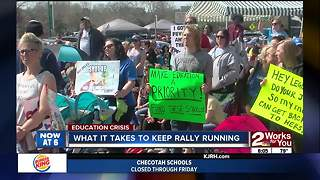 Taxpayers funding teacher walkout - Video