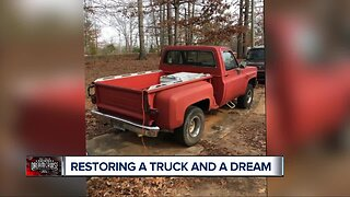 Restoring a truck and a dream