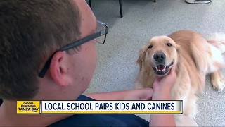 Program pairs special needs kids & shelter dogs
