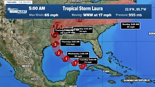 Hurricane watch issued for Gulf Coast ahead of Laura