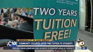 Making It in San Diego: Free community college tuition