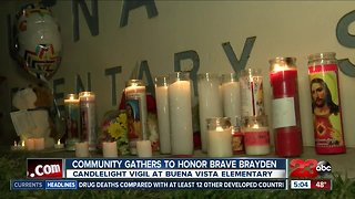 Community gathers to honor Brayden