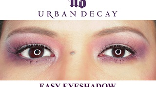 EASY Eyeshadow Routine using URBAN DECAY palette - Video