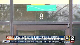 Man arrested after shooting family on Easter Sunday - Video