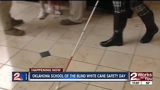 Tulsa participates in White Cane Safety Day - Video