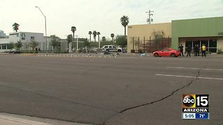 Three pedestrians hospitalized after being hit by car in Phoenix - Video
