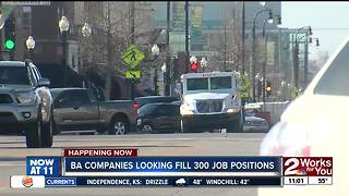 Broken Arrow companies looking to fill 300 job positions - Video