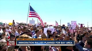 Immigration rallies planned for Bay area - Video