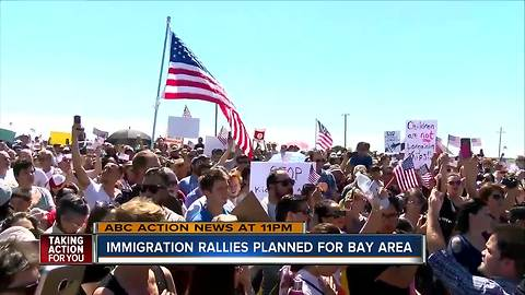 Immigration rallies planned for Bay area