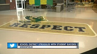 Greenfield High School struggles with student suicides