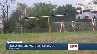 Spanish River picks up playoff victory