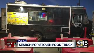 Peoria family out of work after food truck stolen - Video
