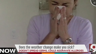 Does change in the weather make you sick? - Video