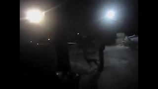BODY CAMERA: MCSO deputy shoots dog attacking K9 *Graphic content* - Video