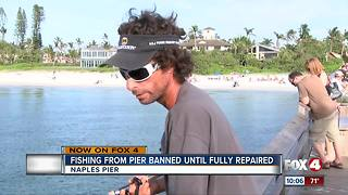 Fishing ban takes effect on Naples Pier - Video