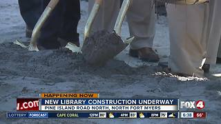 Groundbreaking for new North Fort Myers library - Video