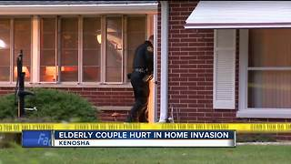 Suspect sought in violent Kenosha home invasion - Video