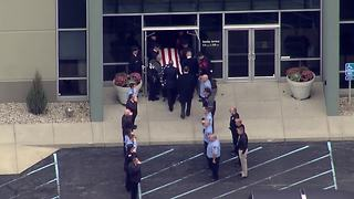 Procession for fallen Greenfield firefighter Scott Compton - Video