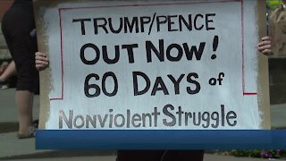 Anti-Trump rally held in Cleveland Saturday afternoon