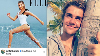 Justin Bieber Caught CREEPING Into Hailey Baldwin's Instagram!