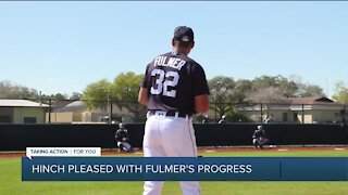 Hinch pleased with Michael Fulmer's progress