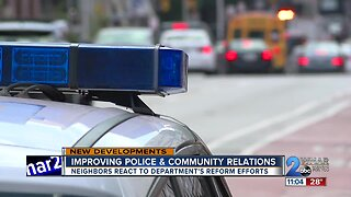 Improving police and community relations in Baltimore