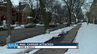 Milwaukee mail carrier escapes attempted sexual assault after woman fires gun - Video