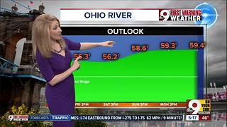 Ohio River rising to worst flood level since March 1997 - Video