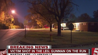 Gunman At Large In Clarksville Shooting