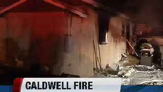 apartment fire in Caldwell kills a small pet and leaves 7-people homeless. - Video