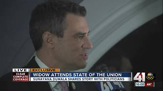 Yoder, guest hopeful after Trump's State of the Union - Video