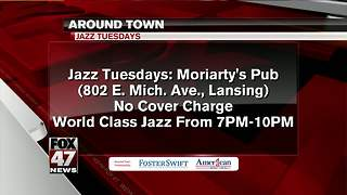 Around Town 8/28/17: Jazz Tuesdays at Moriarty's Pub in Lansing - Video
