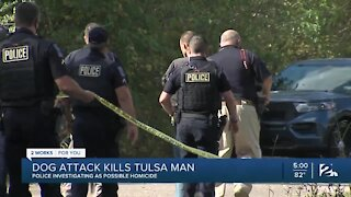 Dog attack kills Tulsa man
