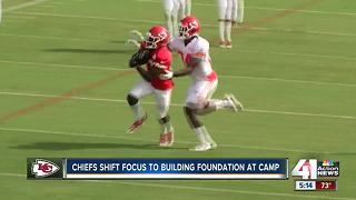Chiefs shift focus to building foundation at camp - Video