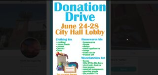 Opportunity Village donation drive