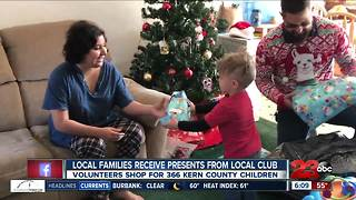 128 families receive a little help this Christmas thanks to local organizations - Video