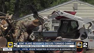 Queen Anne's County tornado victims discuss damage, options - Video