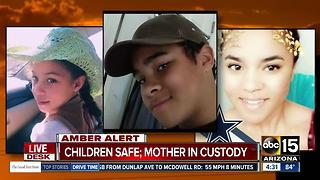 Amber Alert canceled after Marana kids found - Video