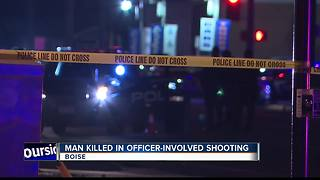 Suspect dead after traffic stop escalates to officer-involved shooting in Boise - Video