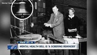 Mental health bell is a 'sobering reminder' - Video