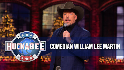 Trying To PROVE I Was A Cowboy Was A HUGE MISTAKE: Comedian William Lee Martin | Jukebox | Huckabee