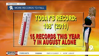 Excessive heat and record highs