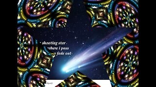 When I die, I will become a shooting star... [Poetry] [Quotes and Poems]