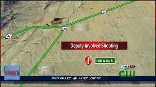 Deputy-involved shooting near Three Points - Video