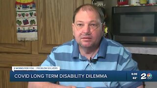 Oklahoma man experiences delay receiving long-term disability for COVID