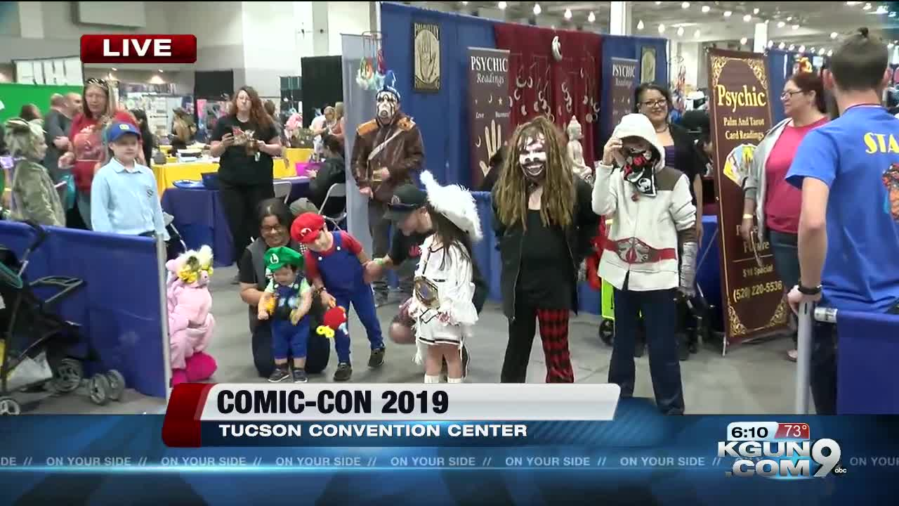 Comic-Con takes over Tucson Convention Center